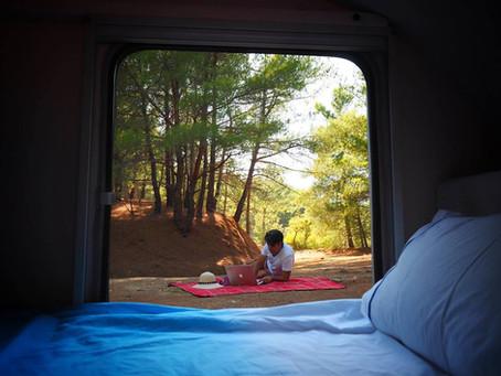 El placer de las Mini Caravanas en Otoño