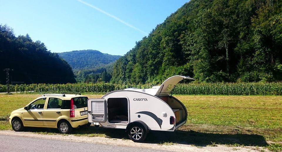Mini Caravana Viajando