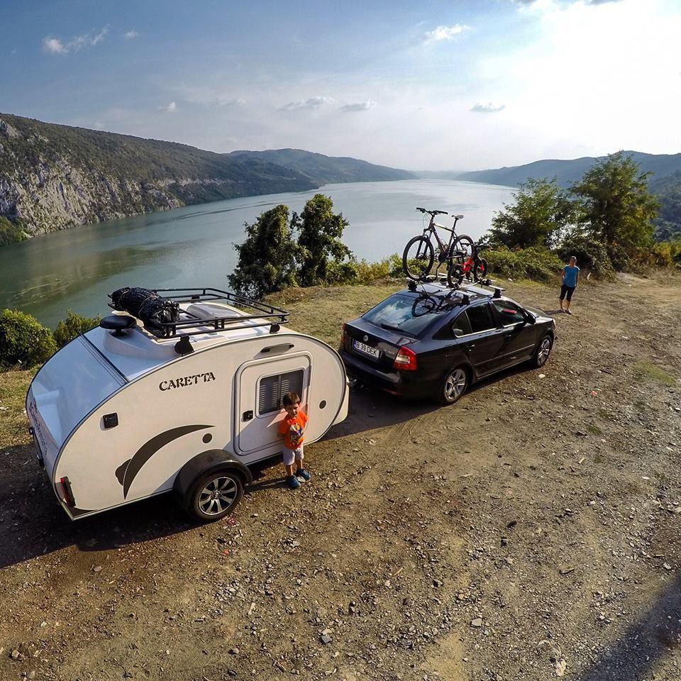 La felicidad está al aire libre. Mini caravanas España