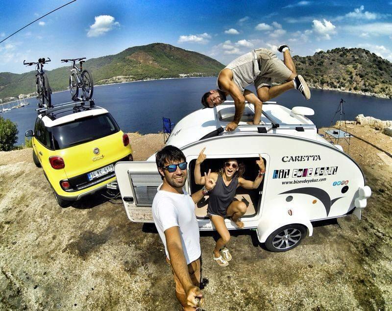 Vacaciones en Mini Caravana