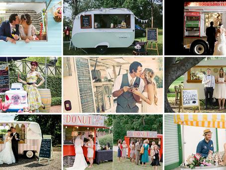 Prepara una boda especial con mini caravanas Food Truck