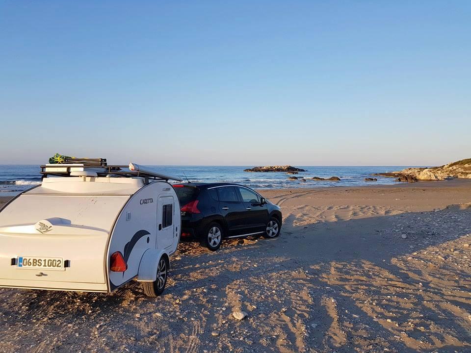 Minicaravana Caretta Playa