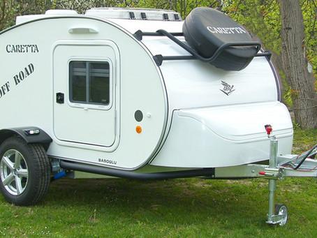 Escapadas de camping con tu mini caravana para dos