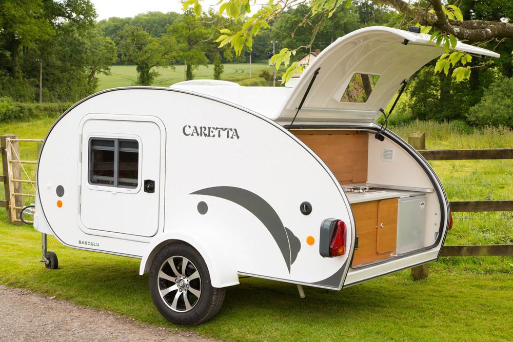 Mini Caravana Caretta 1500 Experience cocina