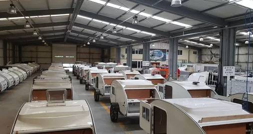 Fábrica Caretta Mini Caravanas