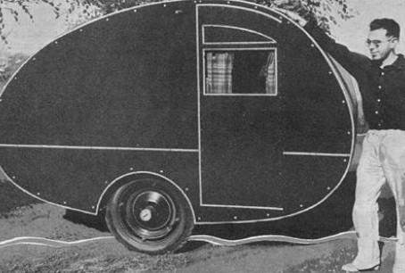 El origen de las mini caravanas Teardrop