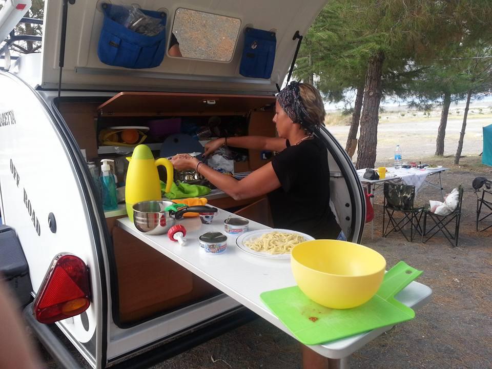 Cocina mini caravana España