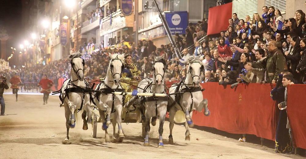 Lorca Semana Santa con Minicaravanas Caretta