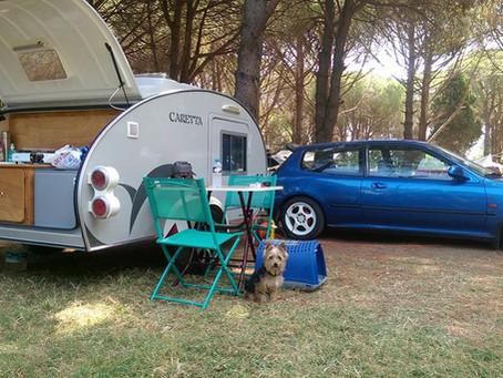 Las normas no escritas del camping. Mini Caravanas