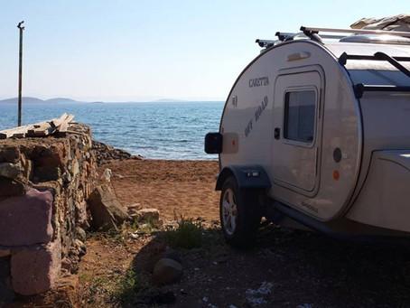 10 razones para ir a la playa con tu mini caravana