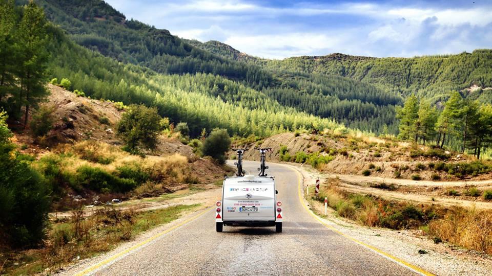 Mini Caravana para Triatlones