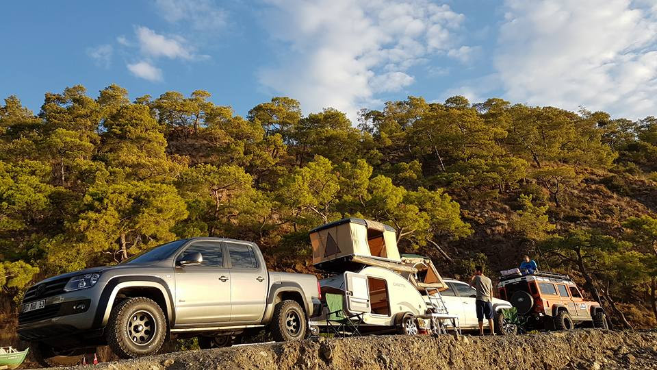 Viajando con una mini caravana caretta