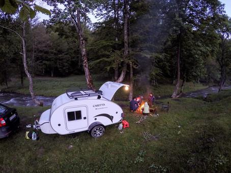 Consejos para pernoctar libremente con tu Mini Caravana