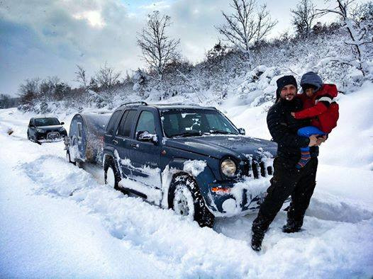 Mini Caravanas Caretta Invierno Nieve España