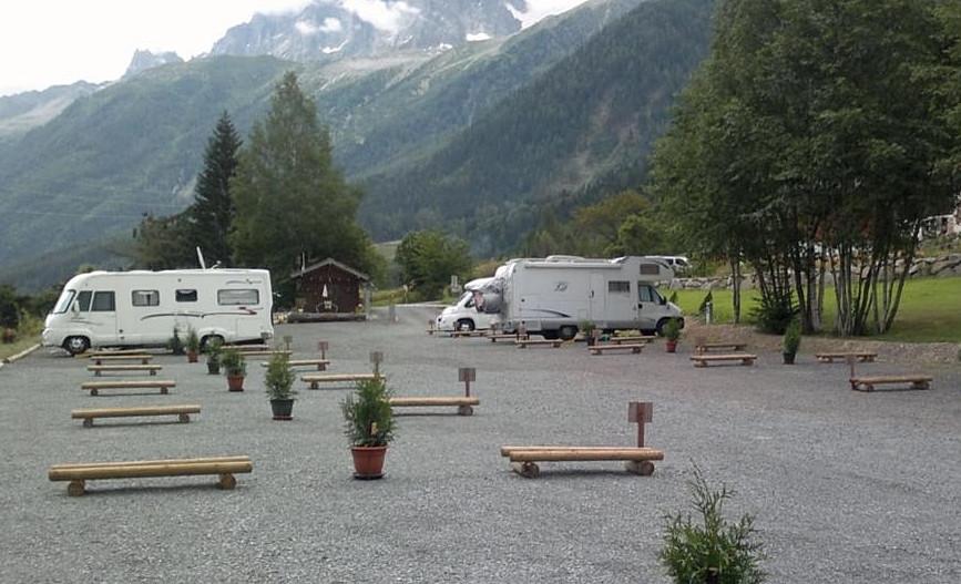 Áread públicas de estacionamiento de autocaravanas mini caravanas españa