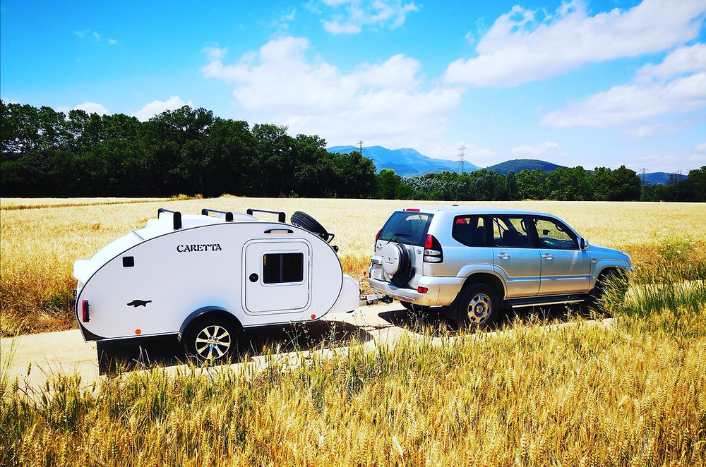 Minicaravana sostenible Caretta
