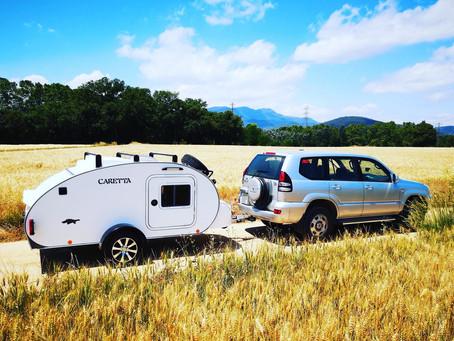 Turismo sostenible en una minicaravana Caretta