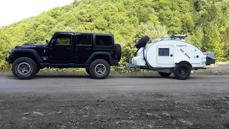 Mini Caravana Caretta Off Road