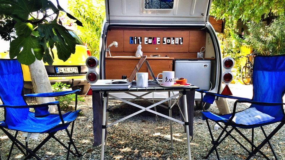 Fin de semana con tu mini caravana Caretta