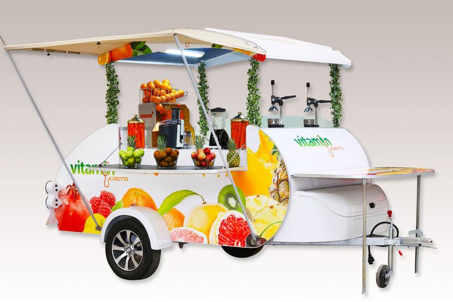 Mini Caravana Caretta Shop food truck