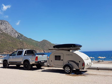 Tips para desplazarte por Europa en mini caravana