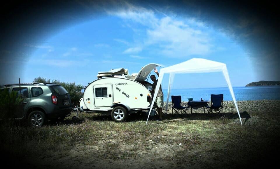 Dónde dormir con una mini caravana