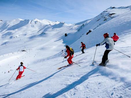 10 actividades para disfrutar de la nieve con tu mini caravana Caretta