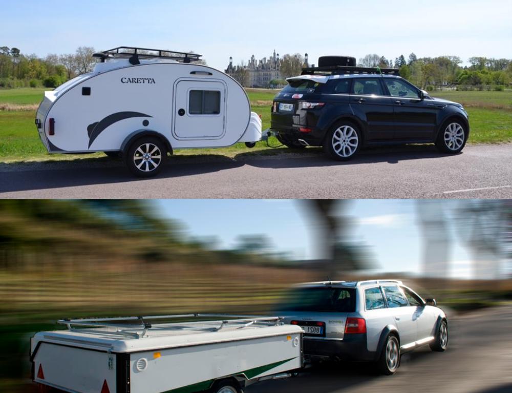Remolque carro tienda comanche versus Minicaravana Caretta