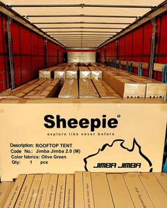 Contenedor tiendas de techo Sheepie