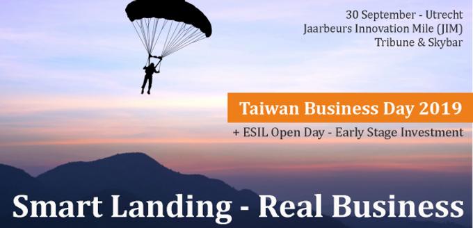 TAIWAN BUSINESS DAY 2019 IN UTRECHT @ 30 SEPTEMBER