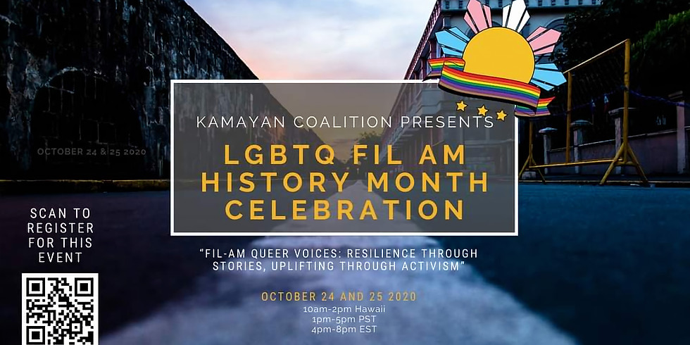 Fil Am Queer Voices: Two Day Virtual Celebration