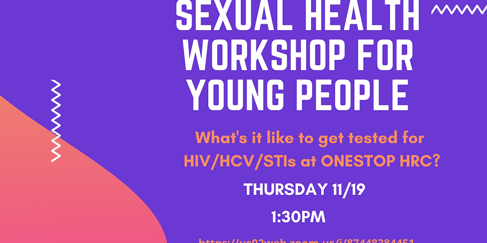Sexual Health Workshop for Youth People