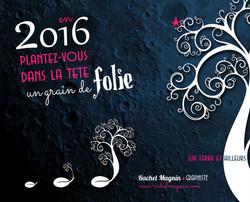Voeux 2016 Rachel Magnin Graphiste