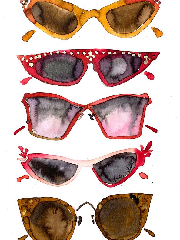 My Colourful Sunglasses  £300