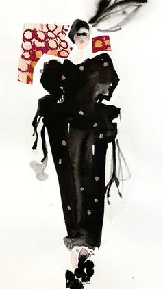 Dries Van Noten Spotty Dress  £350