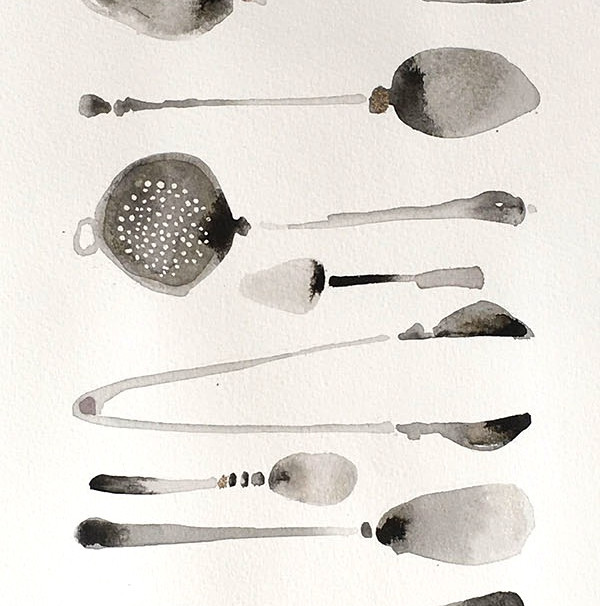 Silver Things for Afternoon Tea  £280