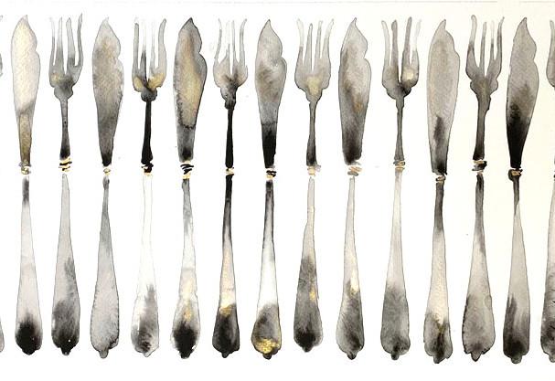 Fish cutlery £300