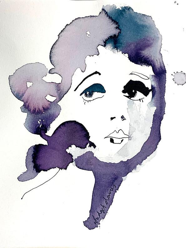 Purple Lady  £250