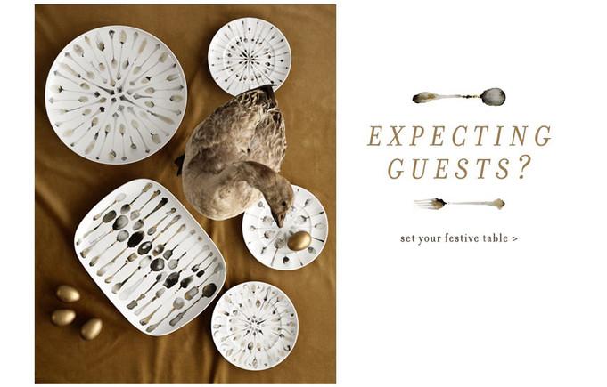 Anthropologie tableware