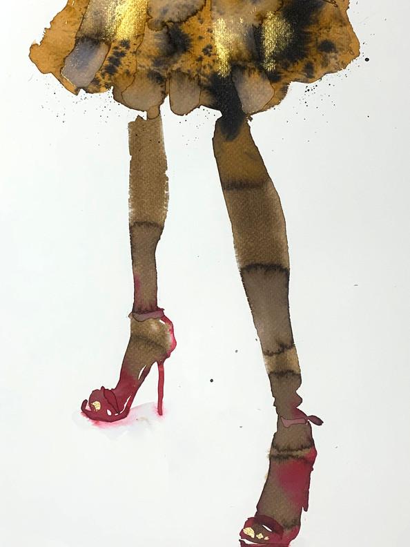 golden toenails   £380