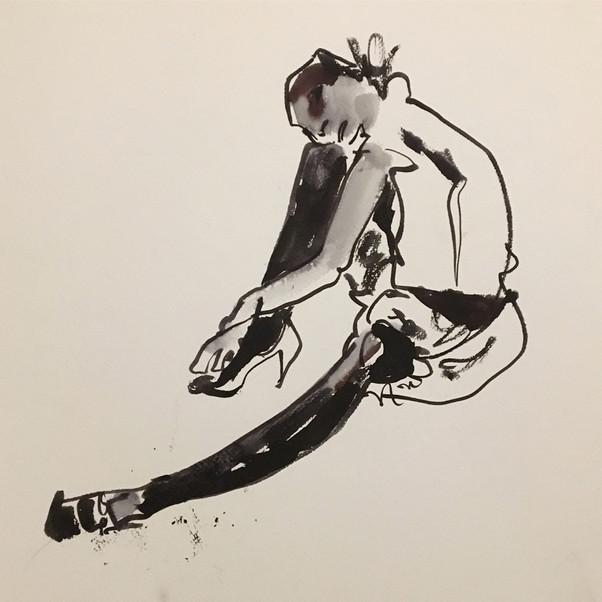 Egon Schiele inspired session