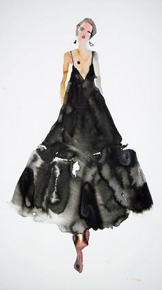Dries Van Noten Black Dress  SOLD