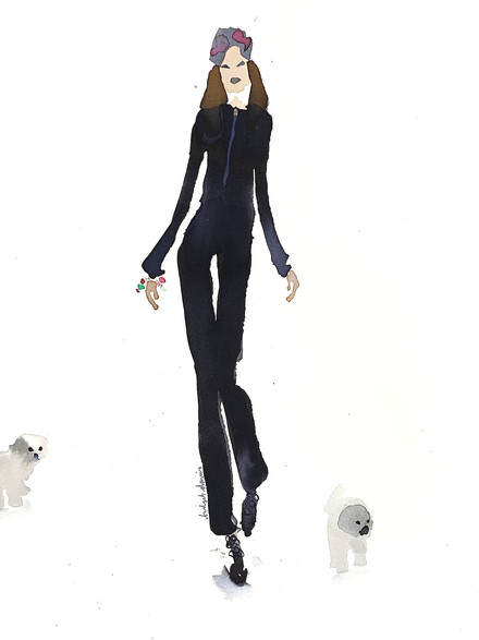 Walking the Dogs in Dior 2  £350