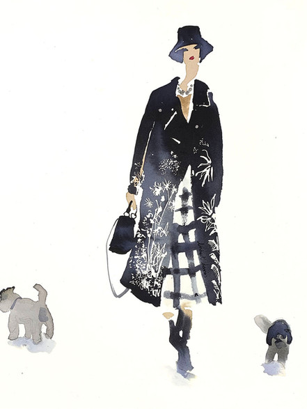 Walking the Dogs in Dior 1  £350