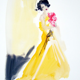 Yellow Dress  £25