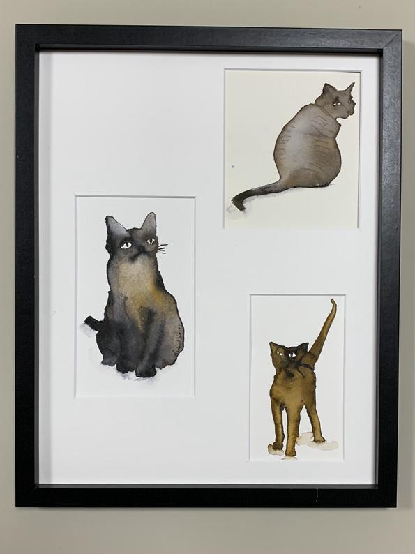 Feeling Catty  £150 - 170