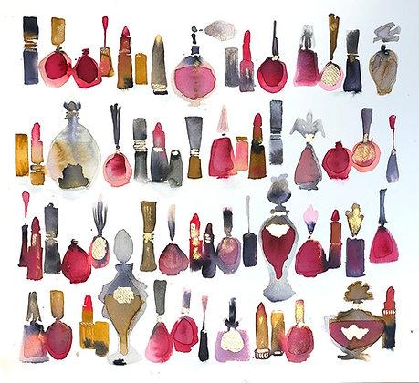 Lipsticks, Nail Polishes and Perfumes