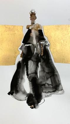 Long Black Dress  £350