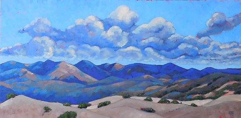 Billowing Clouds Santa Ynez