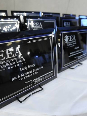 2018 Entrepreneurial Excellence Award honorees